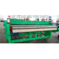 Quality Hige Speed Automatic Carpet Cutting Machine , Non Woven Fabric Cutter Frequency Control for sale