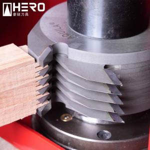 Quality Adjustable Finger Joint Shaper Cutter Polished For Spindle Shape Machine for sale