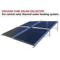 Quality Central Heating System Vacuum Tube Hot Water Solar Collector OEM Service for sale