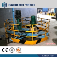 Quality Pouring Mixer AAC Block Cutting Machine for sale