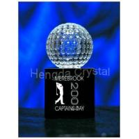China Crystal Trophy, Crystal Golf Trophy, Crystal Awards on sale