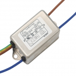 Quality Metal 120V 250V Single Phase RFI Filter Two Stage EMI EMC Filter for sale