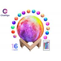 China Moon Lamp 16 RGB Colors 3D Night Light for Kids Bedroom Decoration Birthday Gifts on sale