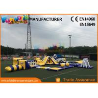 China Anti - UV Giant Aquapark Inflatable Water Parks For Kids And Adults on sale