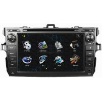 China ouchuangbo A2DP Sat Nav for Toyota Corolla 2006-2011 with RDS Radio GPS digital touch screen MP3 CD player OCB-8010 on sale
