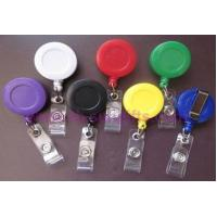 Quality Plastic Retractable Badge Reel, Badge Holder for sale
