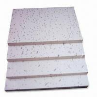 Quality Mineral Fiber Boards with Acoustic Installation Material, 300 and 600mm Width for sale