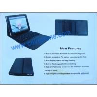 Quality Bluetooth Laptop Keyboard With Leather Case For 10 Inch IPad Keyboard for sale