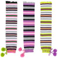 Buy cheap Individual Comfortable Colorful Striped Knitted Leg Warmers Free Pattern For from wholesalers