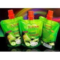 Quality Fruit Juice Spout Pouch Packaging With Cap for sale
