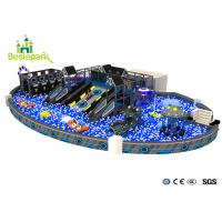 Anti - static Large Indoor Playground , Million Ball Pool Baby Soft Play Equipment