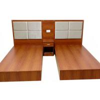 Quality Modern Design Commercial Hotel Furniture Luxury Double Hotel Room Beds Design for sale