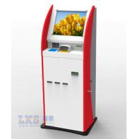 Quality Multifunction Self Service Kiosk 19 TFT Touchscreen With Secure Pin Pad for sale
