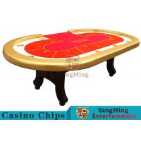High Elasticity Sponge Foreskin h Feet Texas Holdem Poker Table 2600*1400*800mm