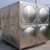 China Hot Pressed Panel Drinking Water Storage Stainless Steel Water Tank on sale
