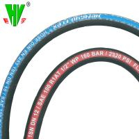 Quality China hydraulic hose pipe manufacturers supply steel wire braided rubber 6mm hydraulic hose for sale
