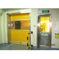 Buy cheap Industrial 304 Stainless Steel High Speed PVC Rolling Door Internal / External Area from wholesalers