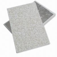 Quality Gypsum Ceiling Boards with >160N Strength, Sunken- and Moisture-proof, Eco-friendly for sale