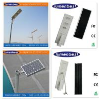 Quality 3 Years Warranty all-in-one 100W Solar LED Street Light/Lamp/lighting for sale