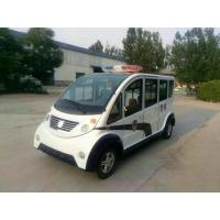 Quality 6 seats Electric Platform Truck Clean Energy Comfortable Compartment for sale
