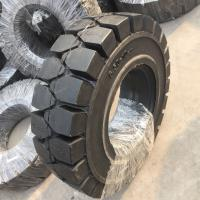 China Solid forklit tire 8.25-15, high quality solid tire 825-15, industry solid tire 8.25-15 black nylon tire on sale