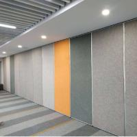 China 100 mm Soundproof Foldable Room Acoustic Partition Wall With Free Design on sale