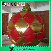 Quality 1.5m Christmas Club Event Party Hanging Decoration LED Lighting Inflatable Ball for sale