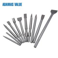 Quality Chisel 280-400mm Length SDS Drill Bits Round Or Hexagon Shape For Masonry for sale