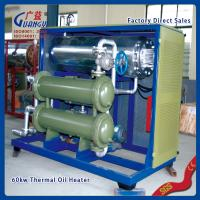 Quality industrial electrical horizontal thermal oil heating for hot press machine for sale