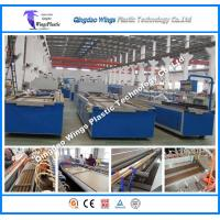 Buy cheap PVC PE Wood Fiber WPC Profile Production Line for Pallet Profile Packing Pallet from wholesalers