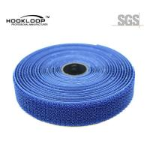 Quality Blue Brushed Hook Loop Fastener , 3 Inch Hook And Loop For Sleep Eye Mask for sale