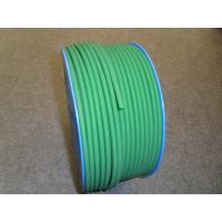 Quality Green PU Polyurethane Round Belt anti static with 3mm - 8mm Textile for sale