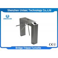 Buy cheap UNIQSCAN Semi Auto Dual Direction Tripod Security Turnstile Gate UT550-C Access from wholesalers
