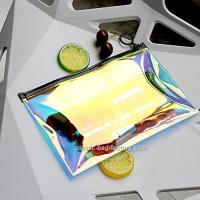 Buy Hot - Stamping TPU Film PVC Cosmetic Bag For Girl / Clear Makeup Organizer at wholesale prices