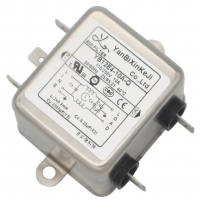 Quality High Performance EMC EMI Single Phase RFI Filter Single Phase Two Stage for sale