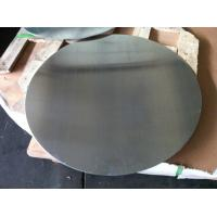 0.4mm to 5mm Mill Finished Aluminium Disc For Kitchen Ware 1050 1060 1100 3003 Bright Surface with DC Material
