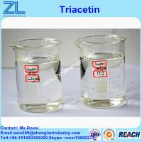 China Triacetin(Glycerol triacetate) synthesis liquid cas 102-76-1 as plasticizer on sale