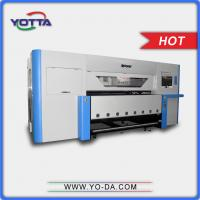 China High precision uv textile printer 1.8m print width non-woven fabric printer, silk, fibre cloth printing machine on sale