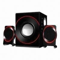 Quality 2.1-channel Speaker System with 20W Subwoofer Power, Made of ABS Plastic Satellite for sale