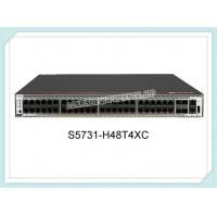 China Huawei Switch S5731-H48T4XC 48x10/100/1000BASE-T Ports, 4x10GE SFP+ Ports, 1*Expansion slot on sale