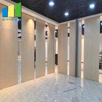 China Fire Resistant Movable Acoustic Sliding Partition Walls For Meeting Room on sale