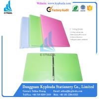 China PP cover paperboard ring binder on sale