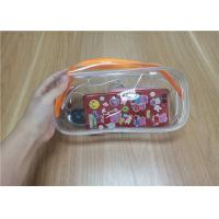 China Promotional Reusable PVC Ziplock Plastic Bags For Packing The Daily Necessities on sale