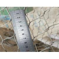 China Pure 316 Stainless Steel Material Wire Rope Mesh 50m Length As Safety Net on sale
