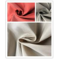 Quality Plain Coated Soft Nylon Fabric , 45%N 55%P Lightweight Outdoor Nylon Fabric for sale