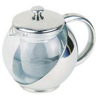 Quality Stainless Steel Tea Pot With Strainer 500ml for sale