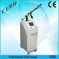 Quality glass tube fractional co2 laser for sale