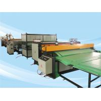 2500mm PE PC PP Corrugated Plastic Sheet Machine High Output And Stable Extruding