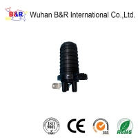 Quality IP68 1 In 3 Out 12 Cores Dome Splice Closure for sale