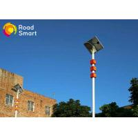 Quality 20W High Pole Integrated Led Street Light With Solar Panel , Solar Parking Lot Lights for sale